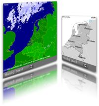 NL Weerradar widget